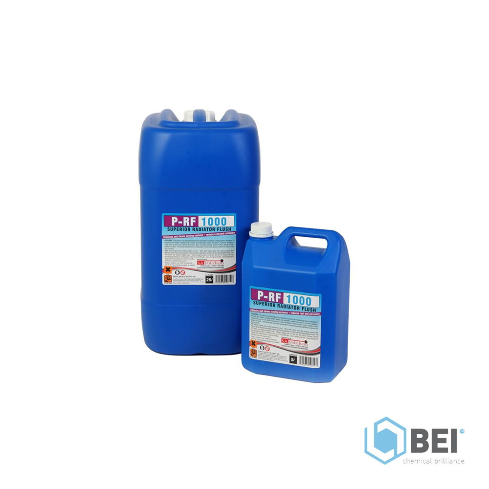 P-RF 1000 - Radiator Flush Cleaning Product - Blue Earth Industries